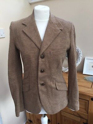 BNWT Lovely Ralph Lauren Fitted Brown Jacket Size 8 (U.K. 10)