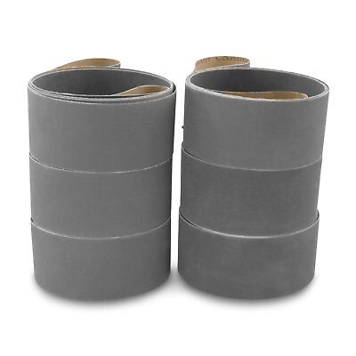 2 X 72 Inch Silicon Carbide Extra Fine Grit Sanding Belts 600 800 1000 Grits ...