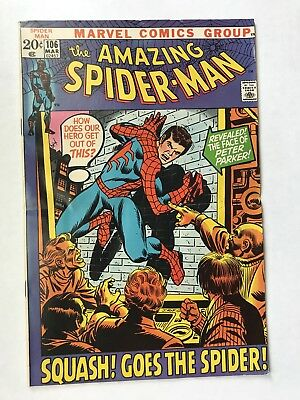 AMAZING SPIDER-MAN #106 March 1972 UNREAD Vintage Marvel Comic