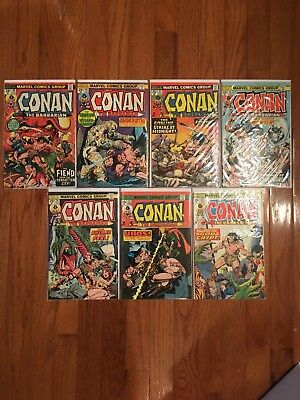 Conan The Barbarian Lot of 44 Issues!!