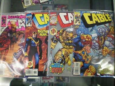 Cable Marvel Comics Run Set Lot of 8