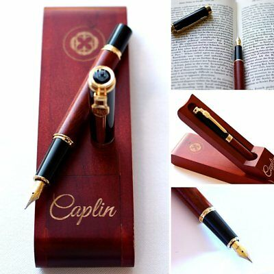 Pen Natural Handcrafted Wine Rosewood Fountain Luxury Vintage Gift Set