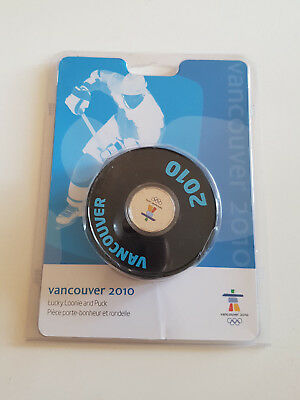 Vancouver 2010 Lucky Loonie and Puck Winterspiele