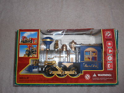 Classical Train Authentic Puffing Smoke