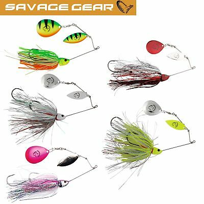 Savage Gear Da Mega Bush 55 g Spinnerbait Hechtköder Angelköder Spinnköder