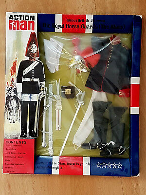 Action Man / Action Team / Geyper Man : The Royal Horse Guards (The Blues) , Ovp