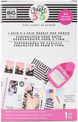 Happy Planner Big Weekly Box Punch-