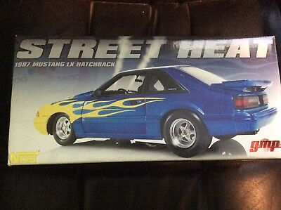 """GMP 1987 Ford Mustang LX 1:18 """" STREET HEAT """" #721 Of 1,000"""
