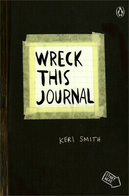 """Wreck This Journal Expanded Edition 5.5""""X8.25""""-Black"""