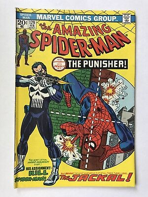AMAZING SPIDER-MAN #129 February 1974  UNREAD 1st Appearance Punisher