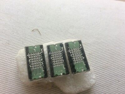 Vintage electronic fluorescent display chips