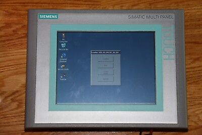 "Siemens Simatic MP277 8"" Touch 6AV6 643-0CB01-1AX1"
