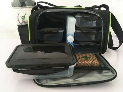 Food Prep Bag - Meal Management - Weight loss aid - Meal Prep - FREE ACCESSORIES