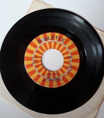 Tommy James and the shondells - mony  mony & one two three - Single Schallplatte