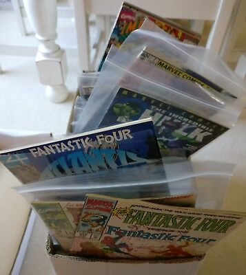Fantastic Four & Marvel Comics Mixed Collection 200+ Issues, Bronze + Modern Age