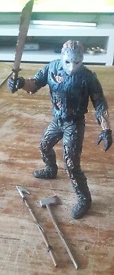 McFarlane MOVIE MANICS JASON VORHEES Goes To Hell Friday 13th Actionfigur 1998