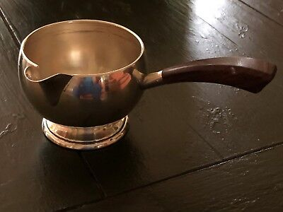 SMALL STERLING SILVER PIPKIN w/ ROSEWOOD HANDLE
