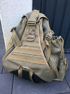Maxpedition Monsoon Gearslinger S-type, coyote, 26l, robust, EDC, KSK