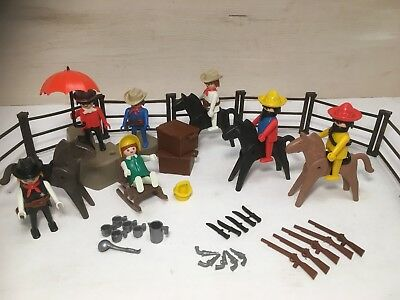 Playmobil Cowboy´s und Mexikaner Superset 3407