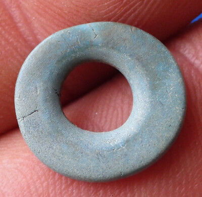 Ancient Bronze Ring. Pendant Amulet.