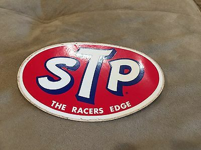 3 VINTAGE STP NASCAR RACING STICKERS RICHARD PETTY DECAL TOOLBOX 1960's NOS