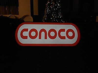 Conoco Lighted Sign