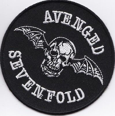 AVENGED SEVENFOLD - IRON or SEW-ON PATCH