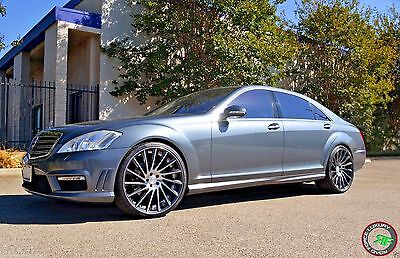"22"" Rf16 Staggered Wheels Rims For Mercedes S Class W221 W222 S550 2007 -Present"