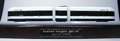👍 Straßenbahn New York Hudson Bergen light rail 15. April 2000 Standmodell