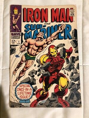 Iron Man and Submariner # 1  1968