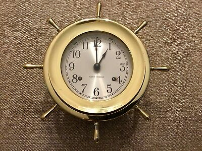 Seth Thomas Helmsman Ship's Bell Watch Clock