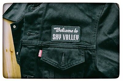 Welcome to Sky Valley embroidered patches [KYUSS]