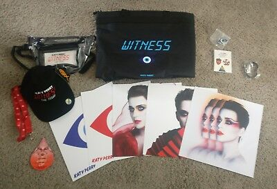 Katy Perry Witness Tour VIP Merchandise and Bag