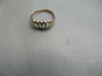 Altgold Ring 585