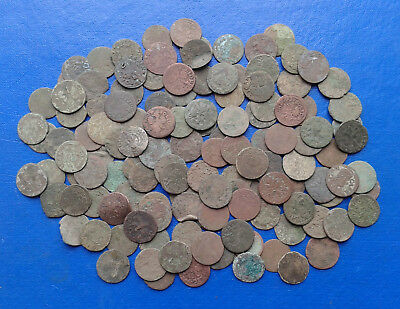 Lot of Medieval Coins. Jan II Kazimierz Waza 1648 - 1668.  ( 130 coins ).