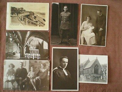Grouping of WW1 British Photo Postcards of OAKLEY Family