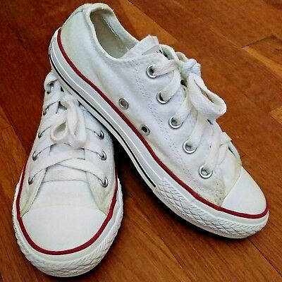 Kids Youth Converse All Star Lo Top White 3Q490