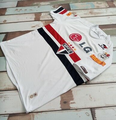 Sao Paulo Home Football Jersey Brazil Topper.