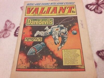 Valiant Comic. 8Th November 1975. Ipc Magazines Ltd. 6P.
