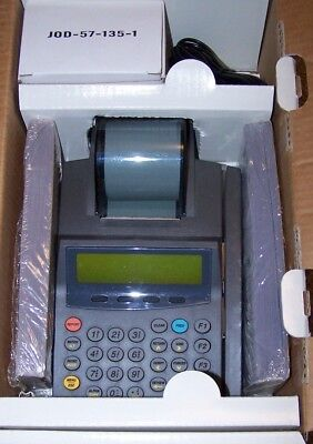 NURIT 2085 POS Credit/Debit Card Lip EDC Terminal Machine w/AC Cables NEW in Box