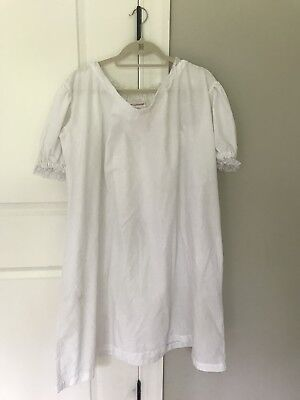 American Girl Felicity'S Night Shift Gown For Girls S Small Fits 7 8 Flawed
