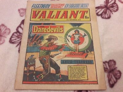 Valiant Comic. 15Th November 1975. Ipc Magazines Ltd. 6P.