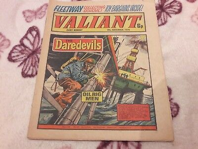 Valiant Comic. 29Th November 1975. Ipc Magazines Ltd. 6P.