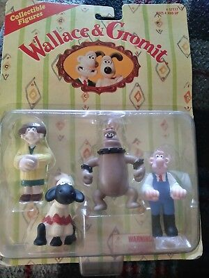 Wallace & Gromit - Collectables - WENDOLENE - WALLACE - PRESTON - SHAWN, SEALED