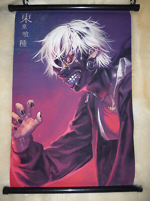 Manga Anime Merchandise Tokyo Ghoul Wall Scroll Poster + Ein Clearfile nach Wahl