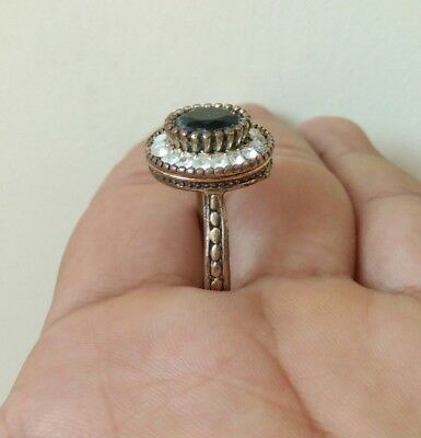 rare ancient antique roman ring beautiful authentic amazing with stone