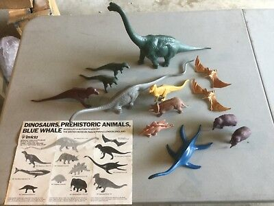 1970s Invicta British Museum of Natural History Dinosaurs - Lot of 13