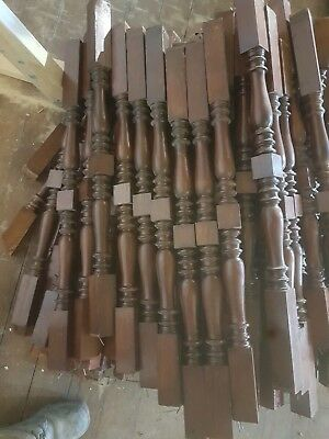 Cedar Stair Spindles Bulk Good Condition Ex Library of Victoria Stunning