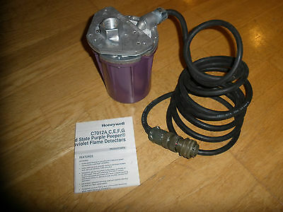 Honeywell C7012E1161 Purple Peeper Uv Flame Detector