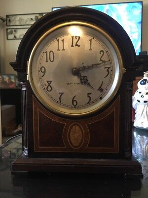 Antique Large Beehive Seth Thomas Chime Mantel Clock (electric) #408 Westbury
